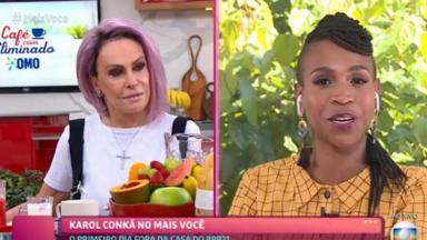 Ana Maria Braga e Karol Conká