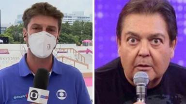 Kiko Menezes nas Olimpíadas e Faustão assustado