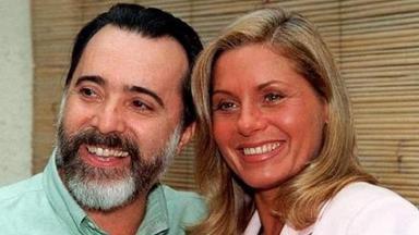 Tony Ramos e Vera Fischer em Laços de Família