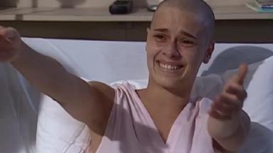 Carolina Dieckmann em cena da novela Laços de Família, em reprise na Globo