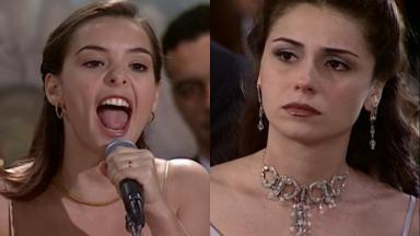 Regiane Alves e Giovanna Antonelli em cena da novela Laços de Família, em reprise no Vale a Pena Ver de Novo, na Globo