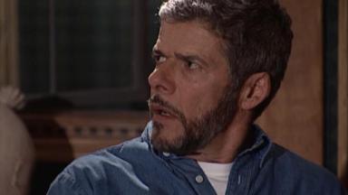 José Mayer em cena da novela Laços de Família, em reprise na Globo