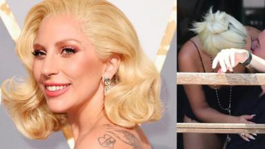Lady Gaga beija rapaz nos EUA
