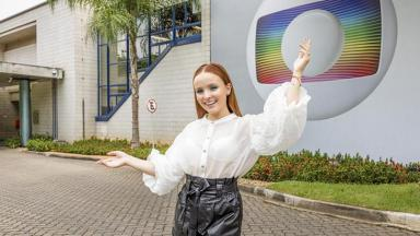 Larissa Manoela na Globo