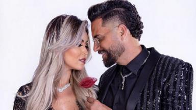 Latino e sua noiva