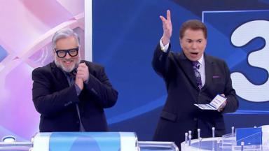 Leão Lobo e Silvio Santos