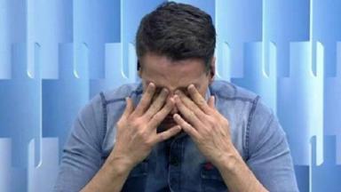 """Leo Dias chorando no """"Fofocalizando"""""""