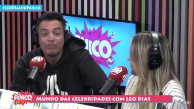 Leo Dias na rádio Jovem Pan