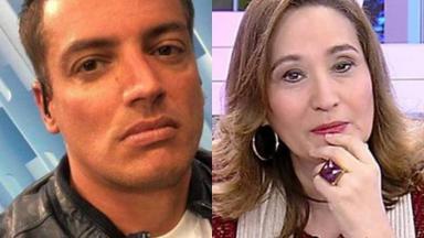 Leo Dias e Sonia Abrão