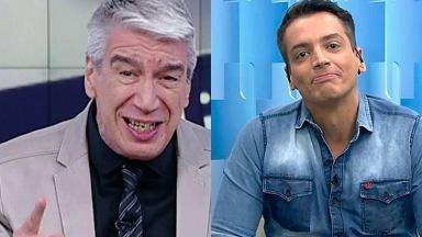 Décio Piccinini e Leo Dias