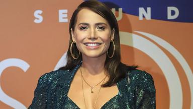 A atriz Letícia Colin