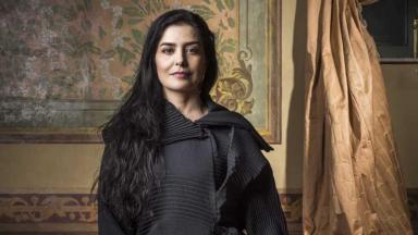 A atriz Letícia SAbatella