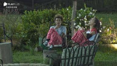 Lidi Lisboa e Stéfani Bays em A Fazenda 2020