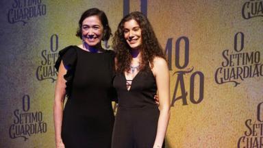 Lília Cabral e Giulia Bertolli