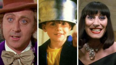 Willy Wonka, Menino Maluquinho e Convenção das Bruxas