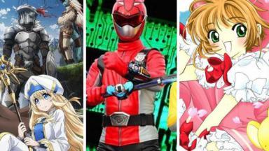 Sakura Cardcaptor e Power Rangers é uma das atrações