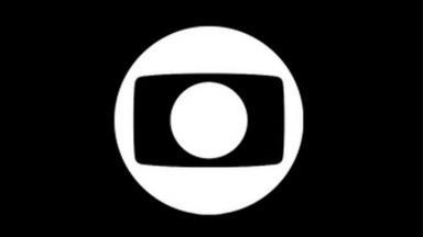 Logotipo da Globo com fundo preto
