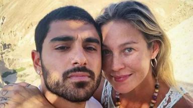 Luana Piovani e namorado