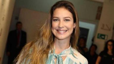 A atriz e apresentadora Luana Piovani