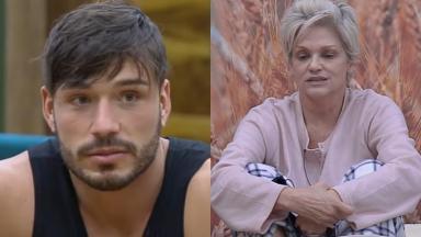 Lucas Viana castigou Andréa Nóbrega no reality show A Fazenda 11