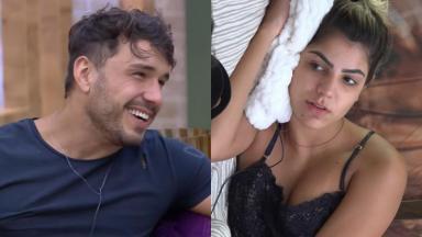Lucas Viana pediu para ver Hariany Almeida nua no reality show A Fazenda 2019
