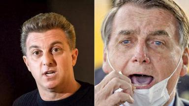 Luciano Huck criticou Jair Bolsonaro ao defender jornalista