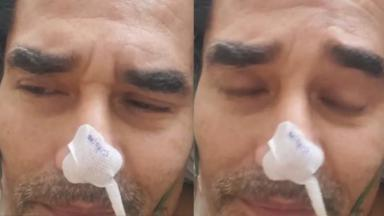 Internado, Luciano Szafir grava vídeo do hospital