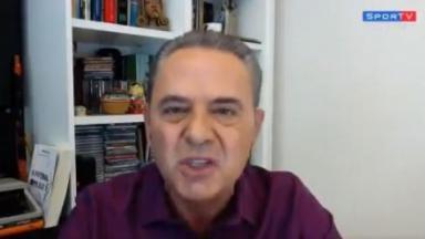 Luís Roberto participa do programa Seleção SporTV