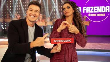 Rodrigo Faro e Luiza Ambiel