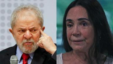 Lula pede indenização para Regina Duarte