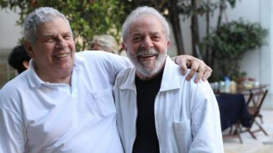 Lula e seu irmão, Vavá