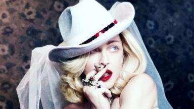 Madonna em clipe de Medellín