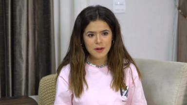 Maisa Silva em seu canal no YouTube