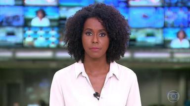 A apresentadora Maria Júlia Coutinho