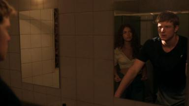 Rita e Filipe em cena de Malhação