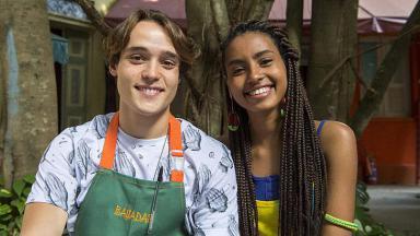Jaqueline e Thiago