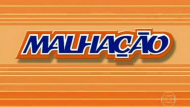"""Logo de """"Malhação"""" durante cinco temporadas"""