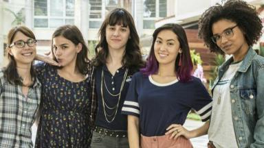 As Five, protagonistas de Malhação: Viva a Diferença