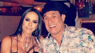 Sergio Mallandro e Flavia