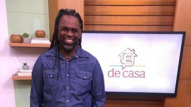 O apresentador Manoel Soares