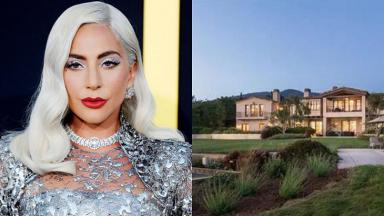 Lady Gaga e sua mansão