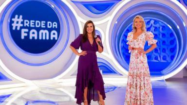 Mara Maravilha no programa Eliana no quadro Rede da Fama