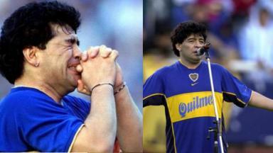 Maradona em 2001
