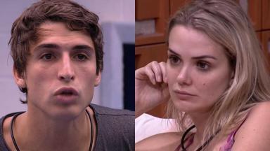 O arquiteto e a ginecologista estão em rixa no reality show Big Brother Brasil 20