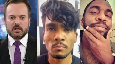 Marcelo Torres no SBT Brasil; Lázaro Barbosa na polícia; Lázaro Ramos faz selfie