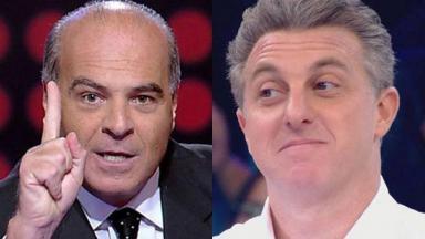 Luciano Huck e Marcelo de Carvalho