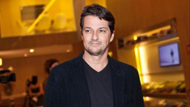O ator Marcelo Serrado