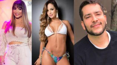 Márcia Fellipe, Aline Mineiro e Bento Ribeiro
