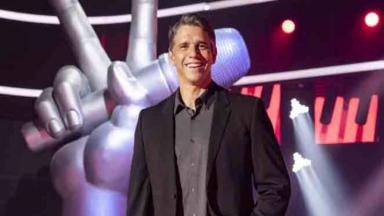 Márcio Garcia à frente do The Voice Kids