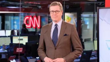 Marcio Gomes na redação da CNN Brasil